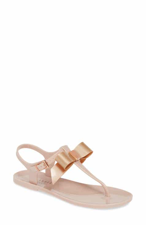 6fda78972dcbe Ted Baker London Teiya T-Strap Bow Sandal (Women)