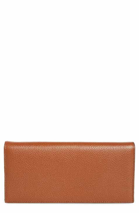 Nordstrom Hunter Leather Continental Wallet 2735f62cb3