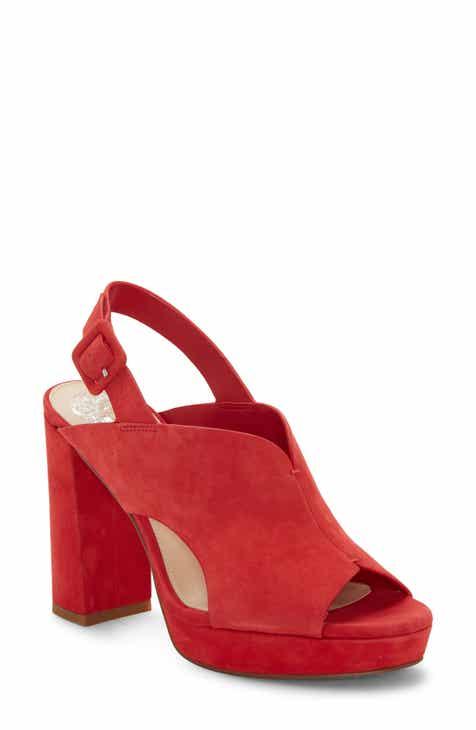 faf47546a3aa Vince Camuto Jeangel Platform Sandal (Women).  128.95. Product Image. RED  NUBUCK LEATHER