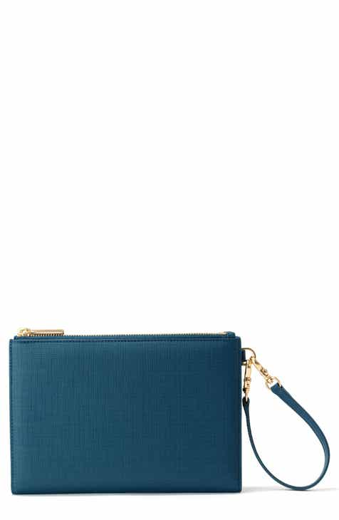 af9eb1a1f36 Dagne Dover Signature Essentials Coated Canvas Clutch Wallet