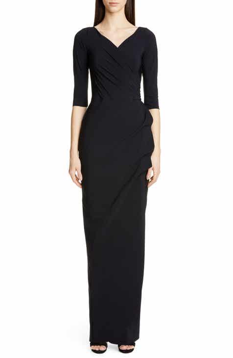 96bb1e82aef Chiara Boni La Petite Robe Florien Ruched Evening Dress
