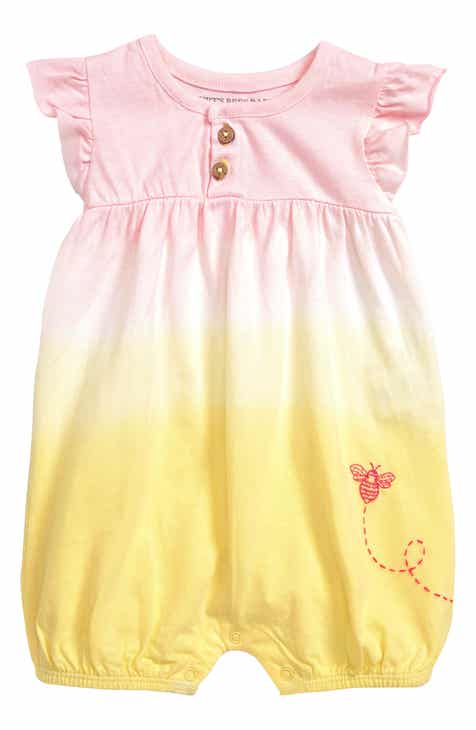 d95ce788bffe Burt s Bees Baby Dip Dye Organic Cotton Bubble Romper (Baby)