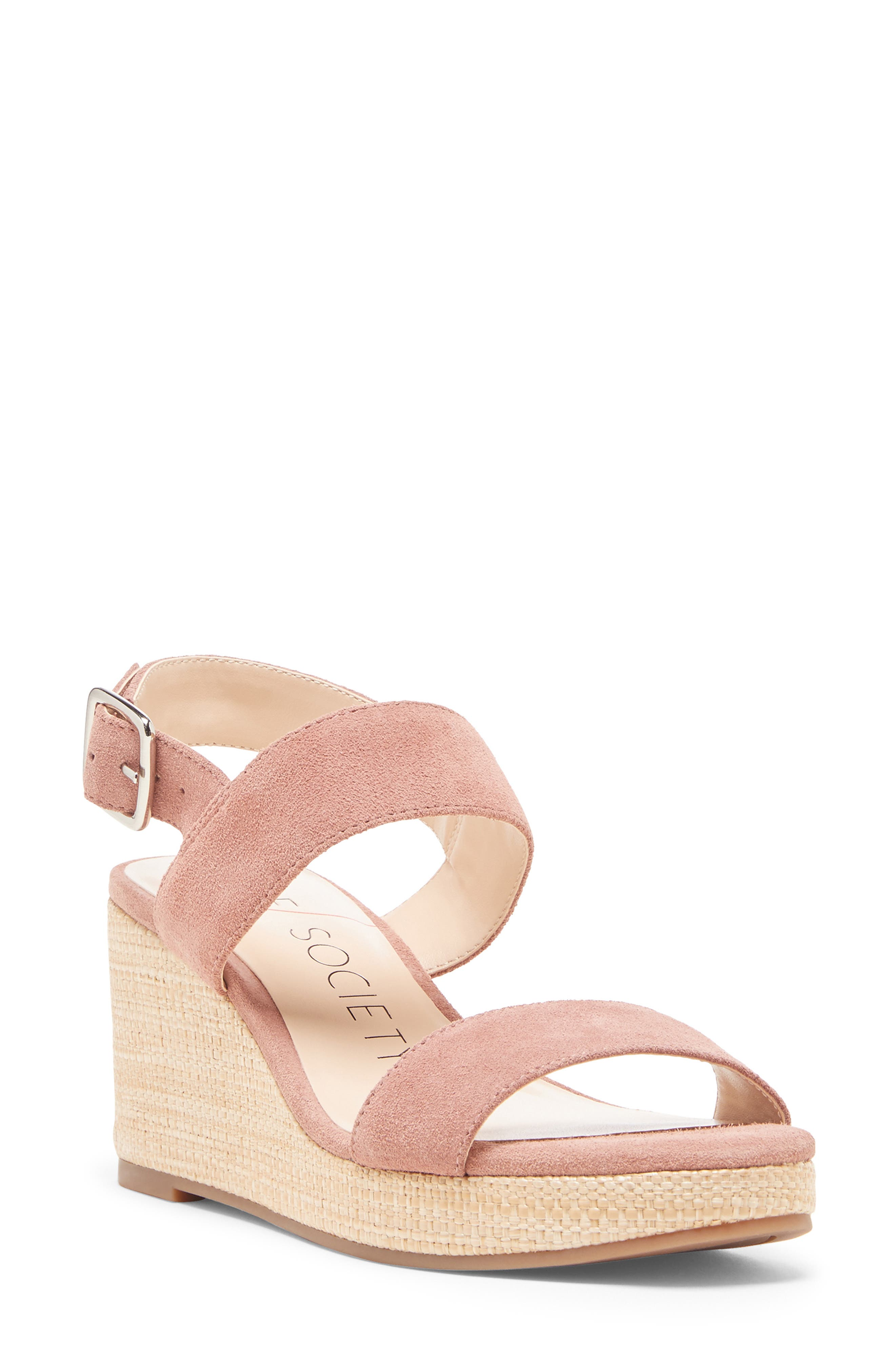 Sole Society Cimme Wedge Sandal Women Coupon Code