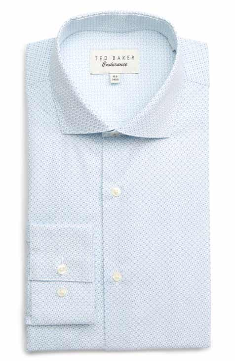bc534c0e096912 Ted Baker London Wobego Slim Fit Geometric Dress Shirt