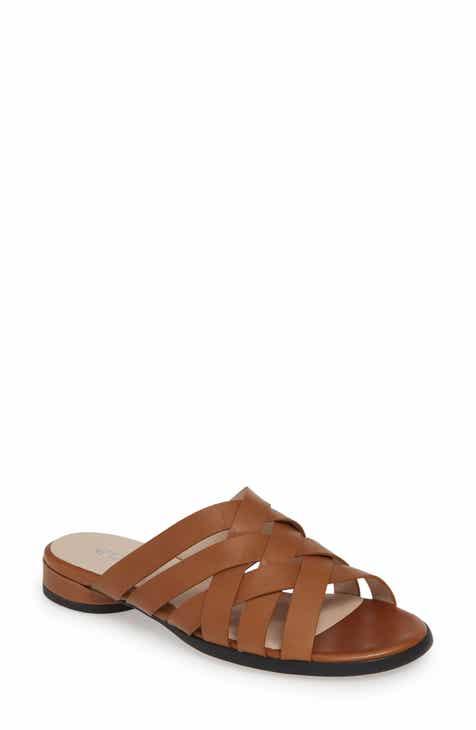 8735576a5e37 ECCO Strappy Slide Sandal (Women)