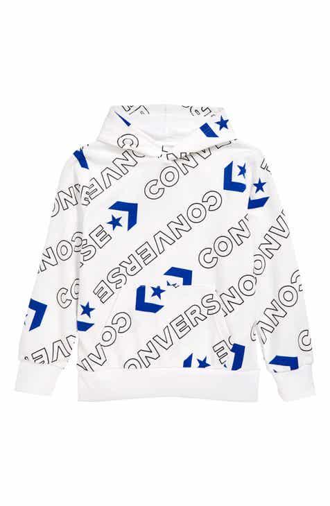 b927b69d536e Converse Logo Print Hoodie (Big Boys)