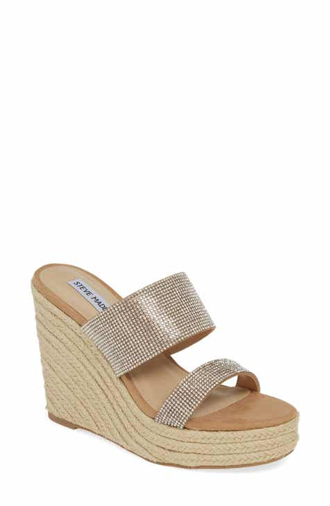 5972c4d96994 Steve Madden Sunrise Espadrille Wedge Slide Sandal (Women)