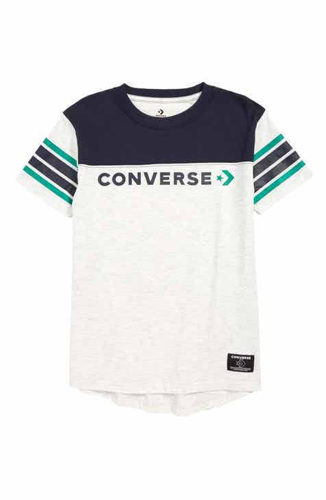 fb2d725baaf Converse Retro Graphic T-Shirt (Big Boys)