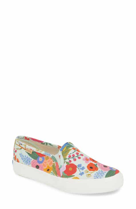 742d3c237 Keds® Rifle Paper Co. Double Decker Slip-On Sneaker (Women)