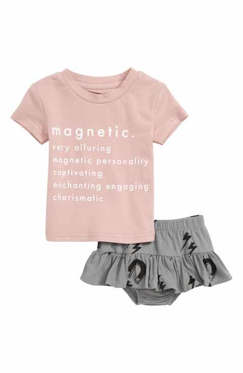 ec7ee2db9ce02 TINY TRIBE Magnetic T-Shirt   Skirt Set (Baby)