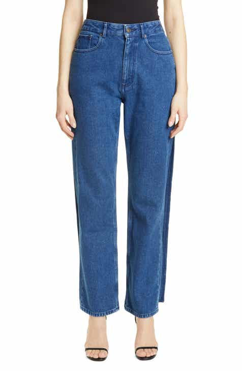 TRAVE Constance High Waist Ankle Straight Leg Jeans (Wild Thing) by TRAVE