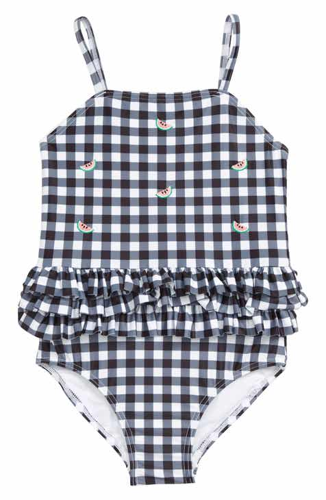 3530f6e53bd85 Tucker + Tate Gingham Ruffle One-Piece Swimsuit (Toddler Girls