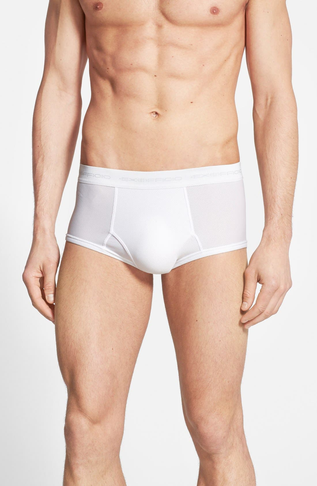 Ex Officio Give-N-Go Briefs,                             Main thumbnail 1, color,                             White