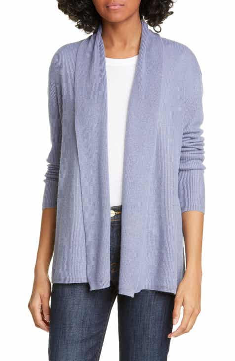Eileen Fisher Organic Cotton Hooded Cardigan (Plus Size) by EILEEN FISHER
