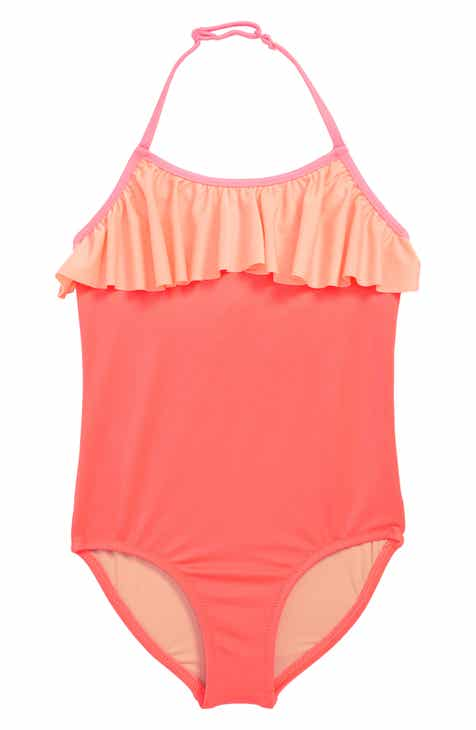 a62f04e1145 crewcuts by J.Crew Ruffle One-Piece Swimsuit (Toddler Girls