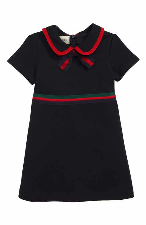 01f260bdc3960c Gucci Peter Pan Collar Dress (Baby)
