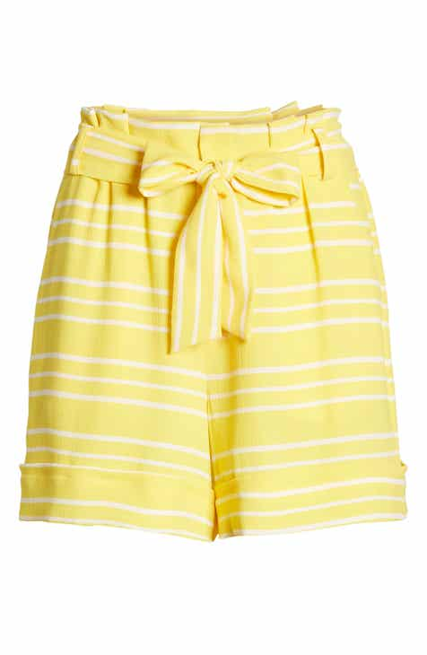 f10b365f Gibson x Living in Yellow Ivy Paperbag Tie Waist Shorts (Regular & Petite)  (Nordstrom Exclusive)