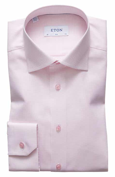 c90a2427 Eton Slim Fit Solid Dress Shirt