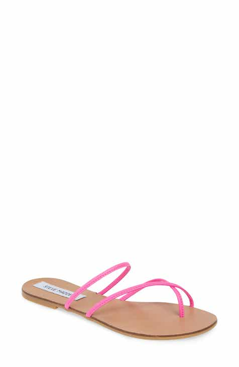 d53f2642 Steve Madden Wise Strappy Slide Sandal (Women)