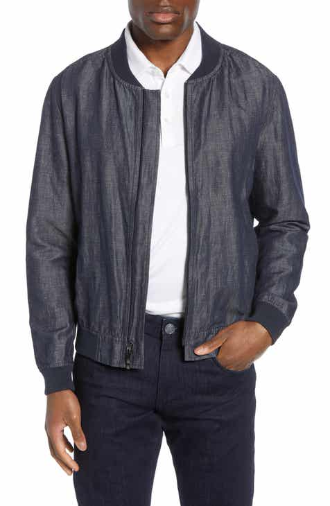 c188487fc men bomber jacket | Nordstrom