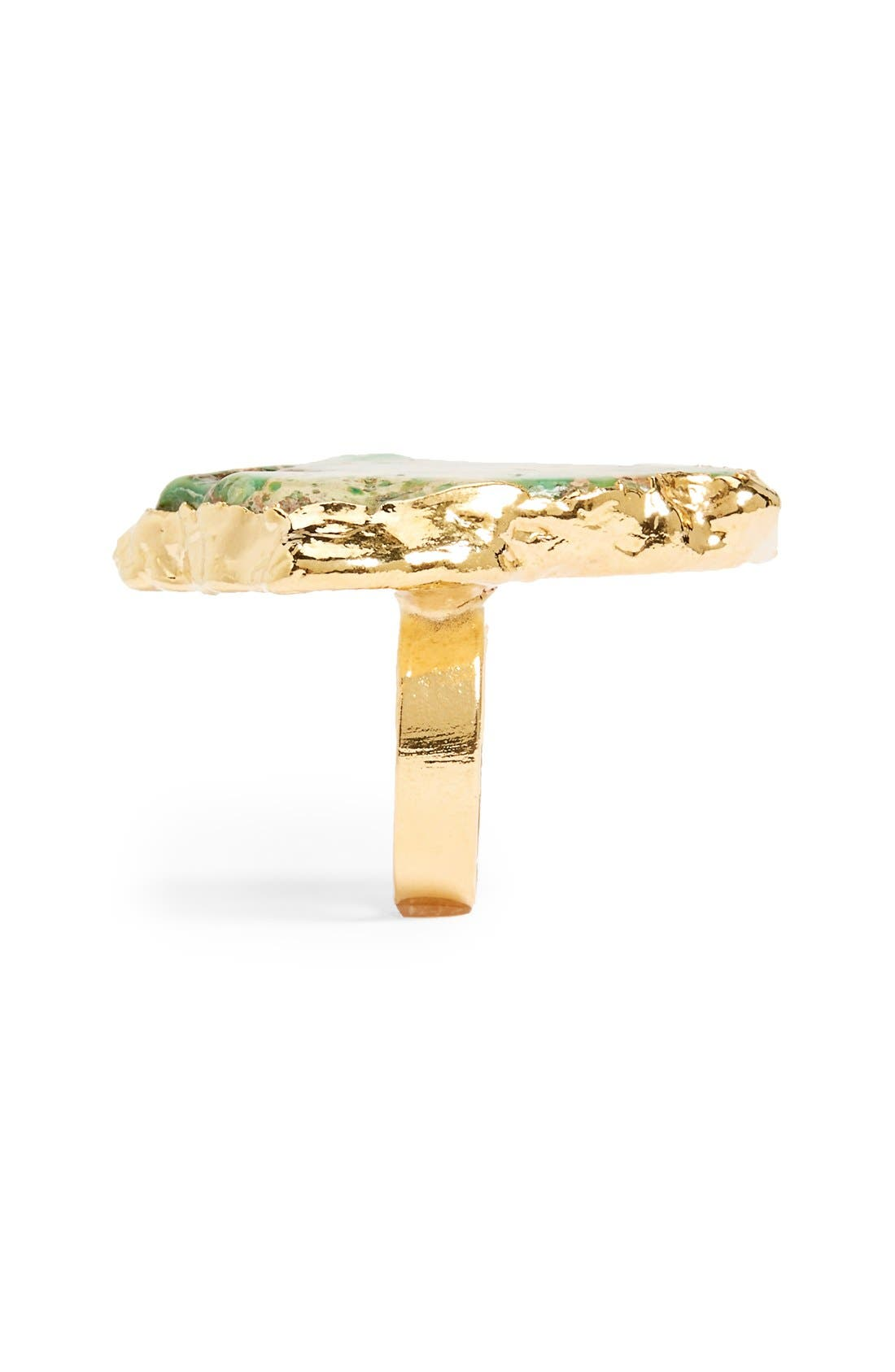 Alternate Image 2  - Sole Society Natural Stone Ring