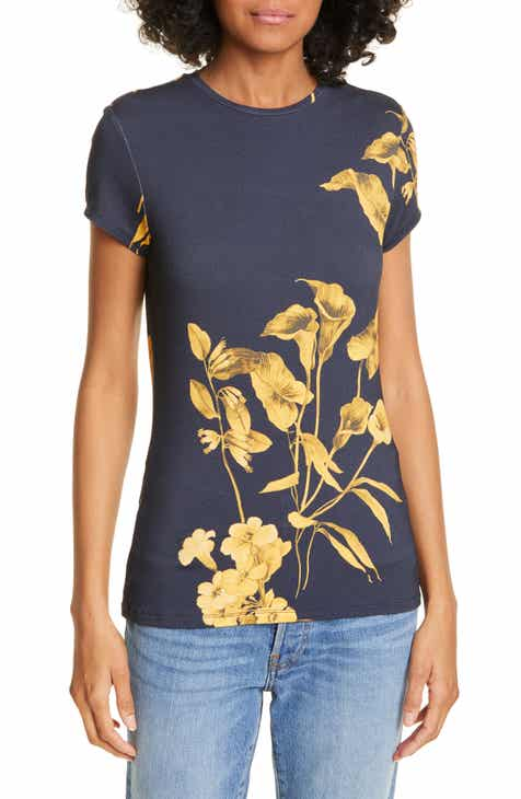 89f36614c Ted Baker London Fantasia Floral Graphic Tee