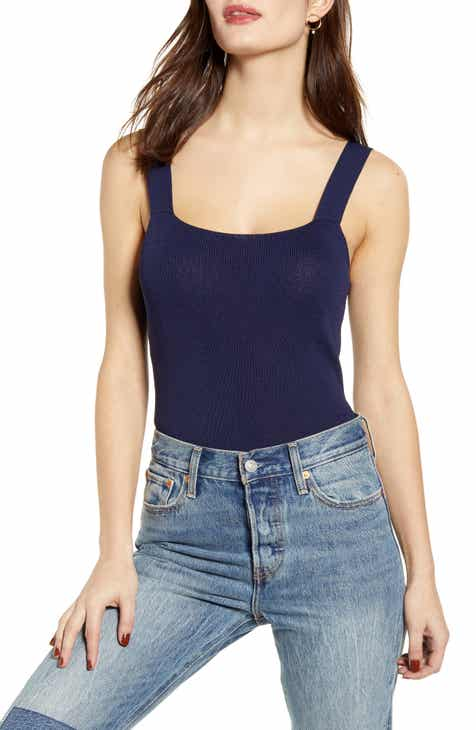 50e97027d0c Leith Knit Crop Tank Top