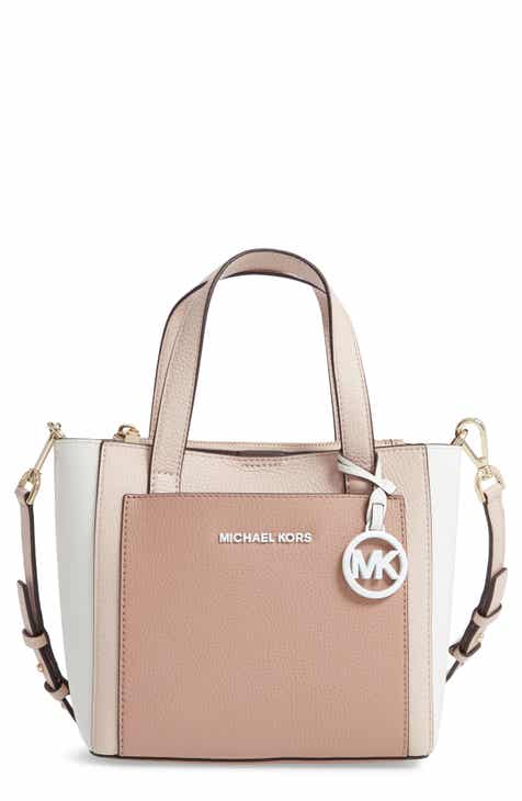 603bf8bc5e0043 MICHAEL Michael Kors Small Gemma Colorblock Leather Crossbody Bag