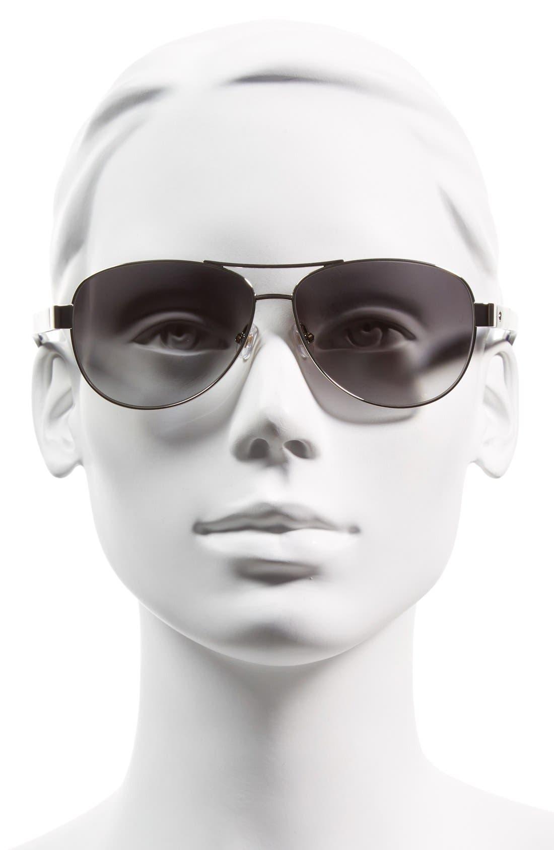 Alternate Image 2  - kate spade new york 'dalia2' 58mm aviator sunglasses