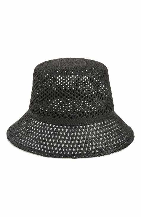 e519095184d1b Nordstrom Open Weave Straw Bucket Hat