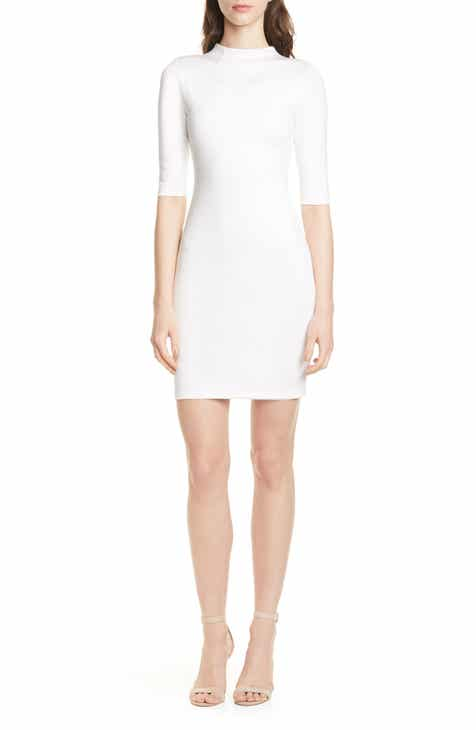 f843d256c788 Alice + Olivia Delora Funnel Neck Body-Con Dress