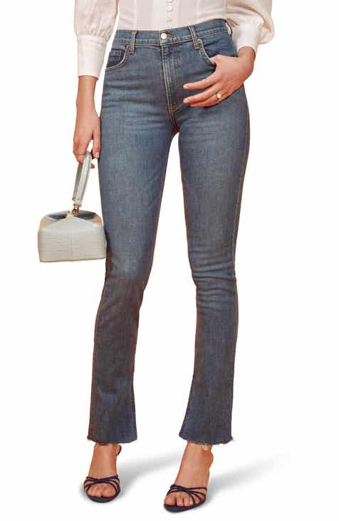 db4a44b3d504 Reformation Riley Skinny Jeans