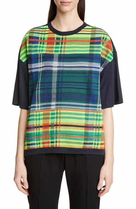 3d8b5752c2af Dries Van Noten Heloviko Madras Plaid Tee