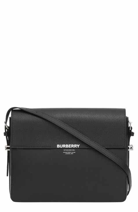 2a9e8cef72c7c Burberry Large Grace Leather Shoulder Bag