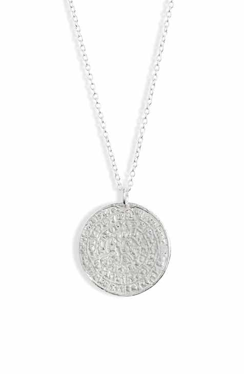 94d3caa59 Argento Vivo Medallion Necklace