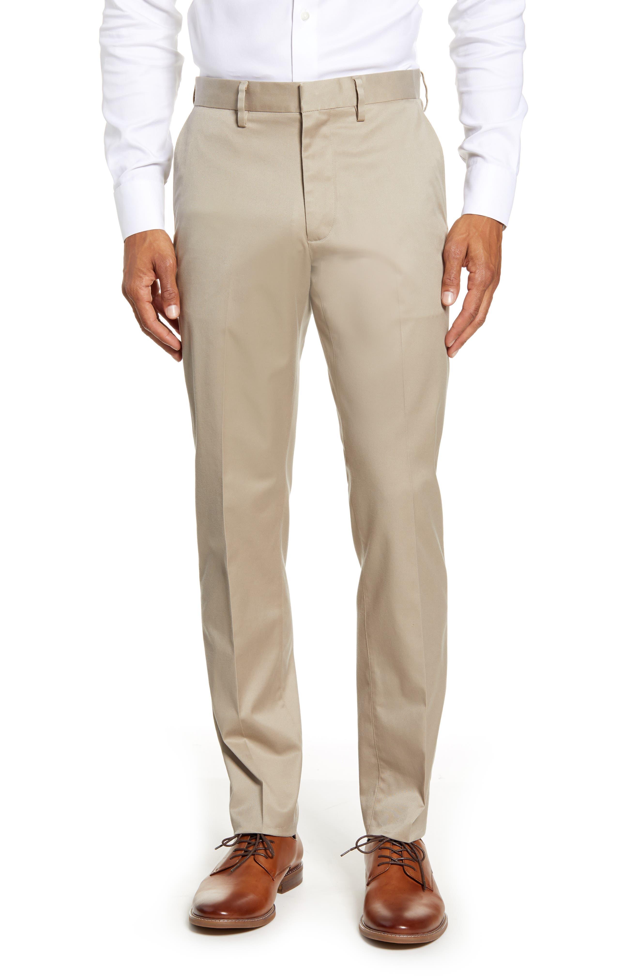 Supima Cotton Men/'s Athletic Fit Dress Chino Pant