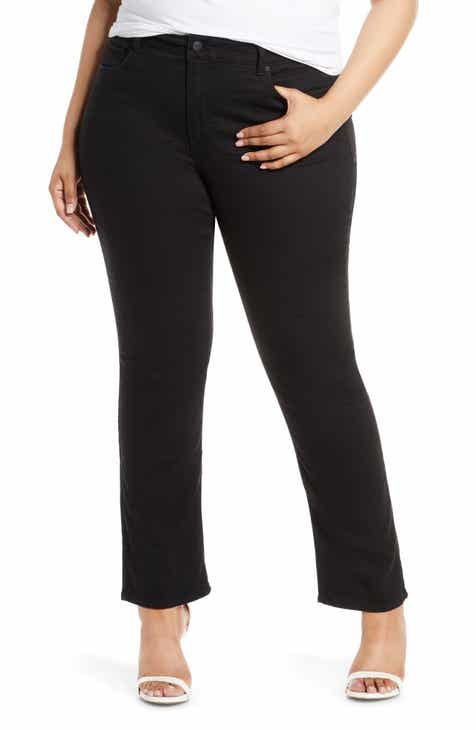 City Chic Breeze Ripped Skinny Jeans (Plus Size) by CITY CHIC