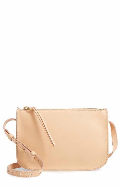 98f6d3941552 Madewell The Simple Leather Crossbody Bag