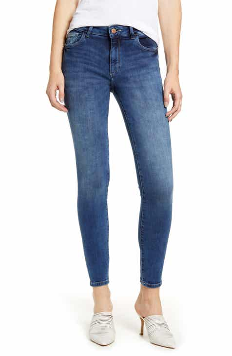 Mavi Jeans Kendra Supersoft Straight Leg Jeans (Rinse Supersoft) by MAVI