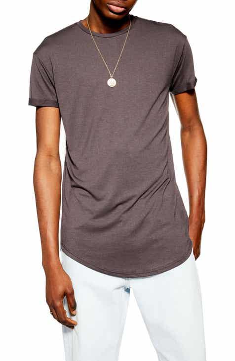 8b9172f9e Topman Scotty Longline Slim Fit T-Shirt