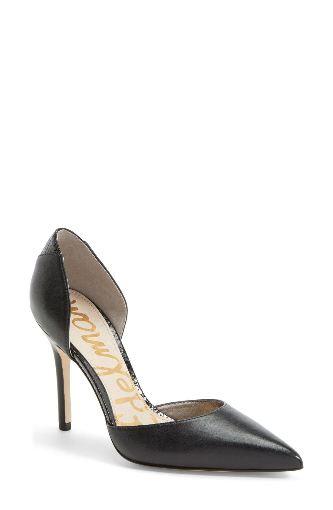 Alternate Image 1 Selected - Sam Edelman 'Delilah' d'Orsay Pump (Women)