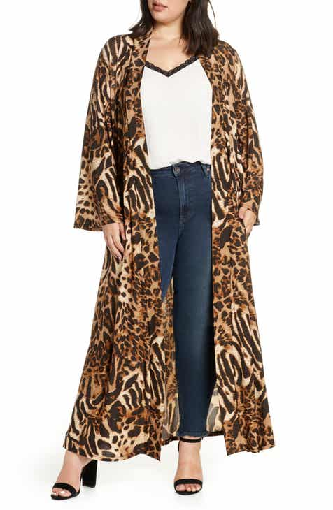 8e7ac0e66bf7 Coldesina Dylan Belted Duster (Plus Size)