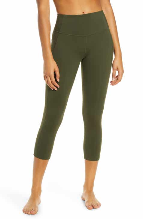 1fd7ff76ff7a4f Zella Live In High Waist Crop Leggings
