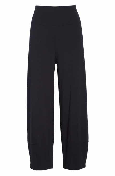 e3af5bbb044224 Eileen Fisher Stretch Organic Cotton Lantern Pants (Regular & Petite)