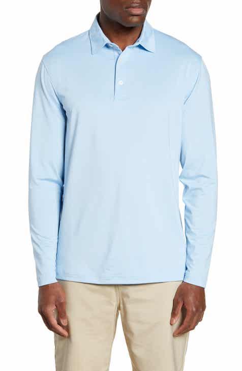 855e2e3b7 johnnie-O Dormie Long Sleeve Performance Polo