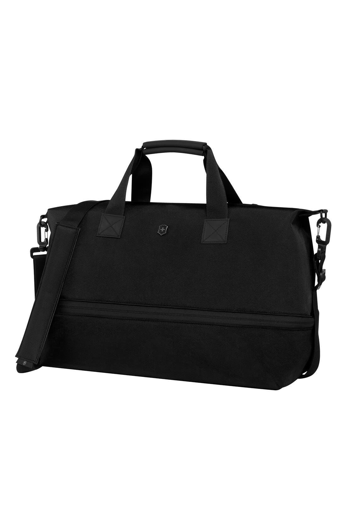 Duffel Bag,                         Main,                         color, Black