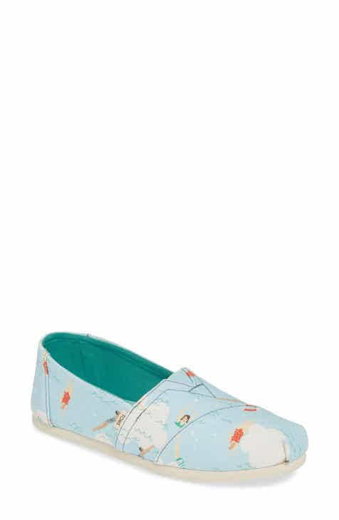 4e408dff37b TOMS Classic Canvas Slip-On (Women)