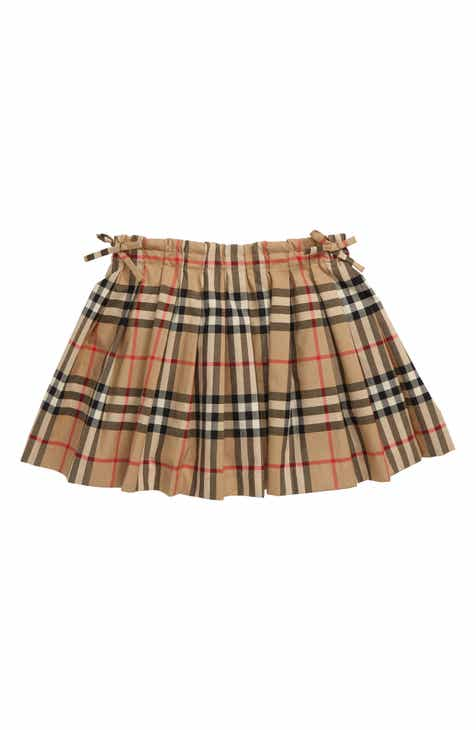 a846ca5c28 Burberry Pearly Check Skirt (Toddler Girls, Little Girls & Big Girls)