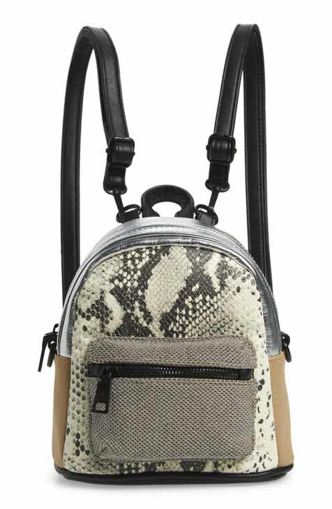 86e58821dee Steve Madden Mini Mixed Media Convertible Backpack