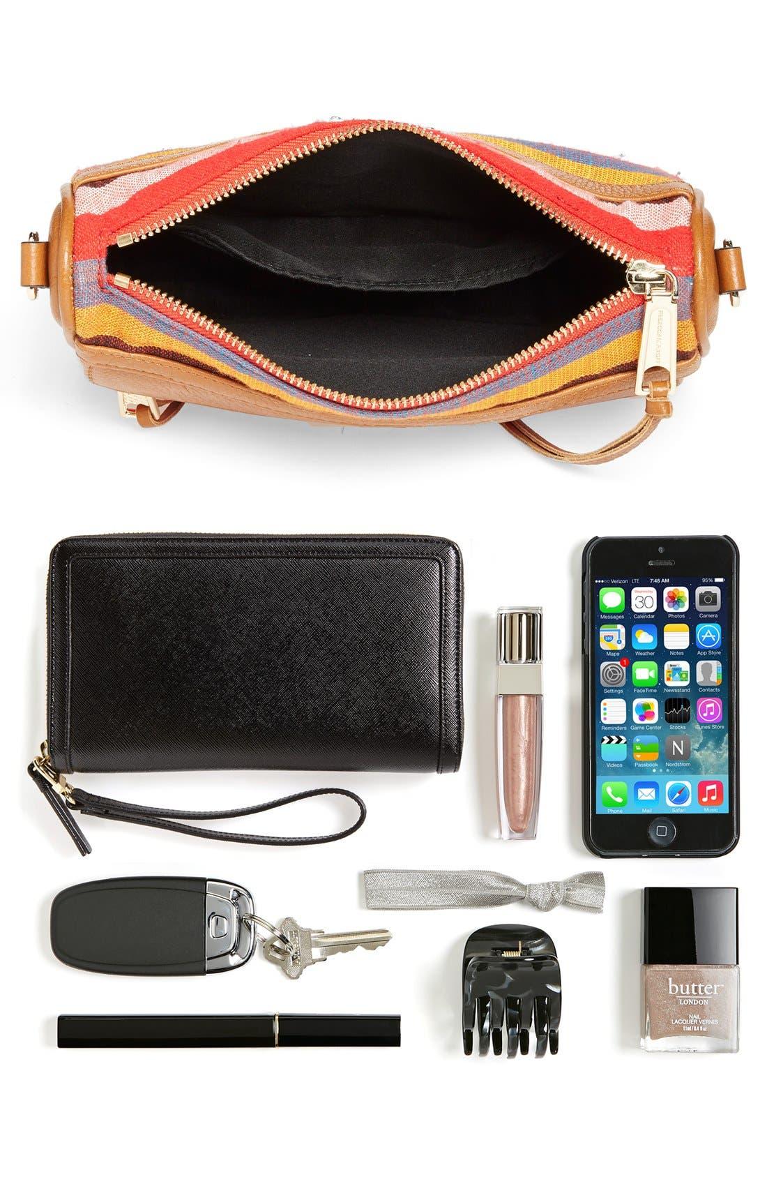 Piece & Co. and Rebecca Minkoff 'Mini MAC' Convertible Crossbody Bag,                             Alternate thumbnail 7, color,                             Orange Multi